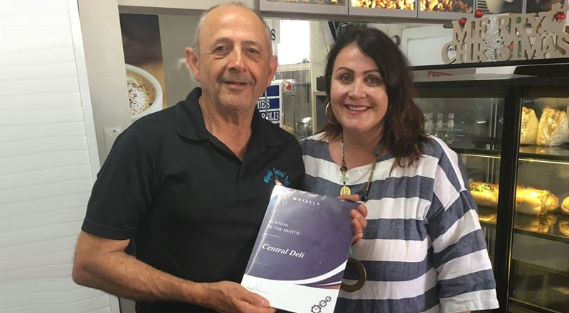 October 2019 Business Of The Month Whyalla Central Deli