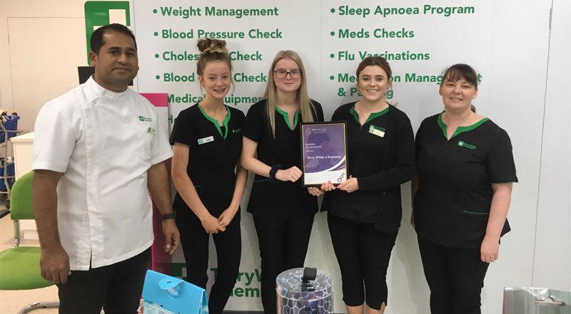 September 2019 Business Of The Month Terry White Chemmart